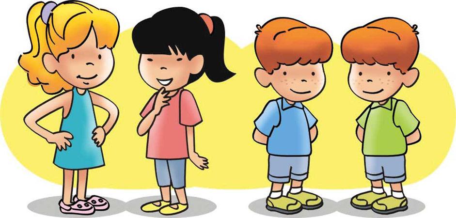 Meninos E Meninas De Nacionalidades Diferentes Childre: Portal De Educação Infantil